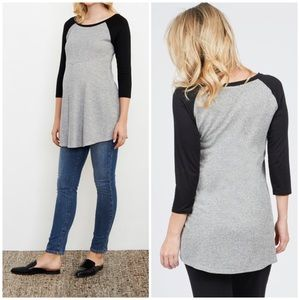 Nordstrom Maternal America Baseball Tee | Medium